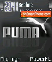 Puma 3256 tema screenshot