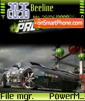 Nfs Most Wanted 07 es el tema de pantalla