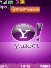 Yahoo theme screenshot