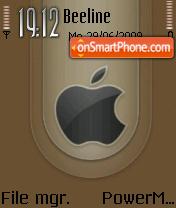 Apple New es el tema de pantalla