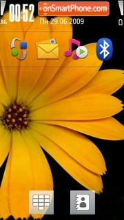 Samsung i8910 Theme-Screenshot