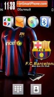 Fc Barcelona 03 tema screenshot