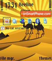 Camels 03 theme screenshot