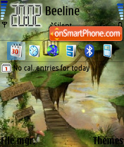 Dreamland 01 theme screenshot