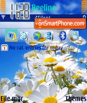 Daisy Meadow theme screenshot