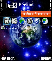 World 06 theme screenshot