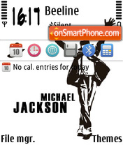 Скриншот темы Michael jackson 06