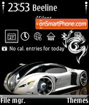 Bugatti 07 theme screenshot