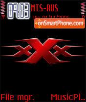 XXX theme screenshot