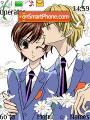 Ouran High School theme screenshot