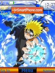 Скриншот темы Rasengan Clock