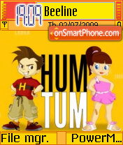 Hum Tum theme screenshot