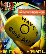 Good Day es el tema de pantalla