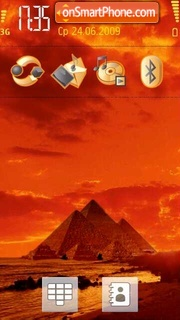 Egypt 02 tema screenshot