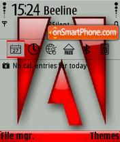 Скриншот темы Adobe 01