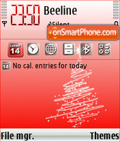 Natale 2008 theme screenshot