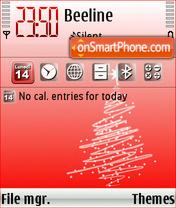 Natale 2008 Theme-Screenshot