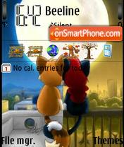 Love 27 theme screenshot