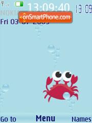 SWF mobile ocean animated es el tema de pantalla