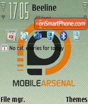 Скриншот темы Mobilearsenal FP2 DFLT
