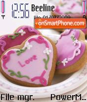 Love Cookie theme screenshot