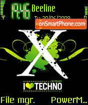 Techno 02 theme screenshot