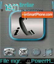 Iphone_Icons theme screenshot