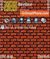 Скриншот темы BrickWaLL