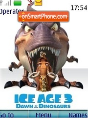 Ice age 3 theme screenshot
