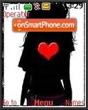 Heart Girl theme screenshot