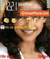 Dipika Padukone theme screenshot