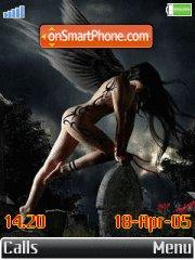 Dark angels theme screenshot