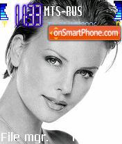 Charlize Theron 1 theme screenshot