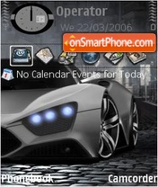 Zenvo ST1 theme screenshot