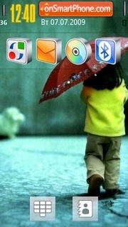 Little Girl 02 theme screenshot