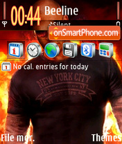 Vin Diesel 05 theme screenshot