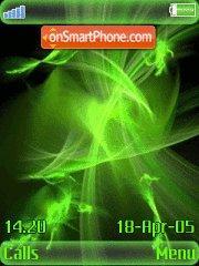 Green es el tema de pantalla