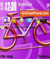 Bicycle theme screenshot