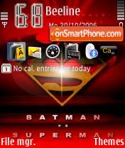 Batman VS Superman Tms es el tema de pantalla