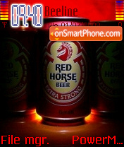Red Horse 01 theme screenshot