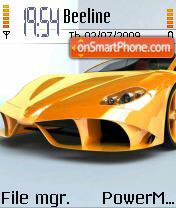 Ferrari Aurea 01 es el tema de pantalla