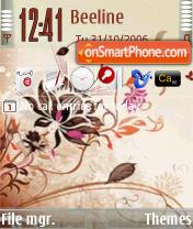 L Amour Five theme screenshot