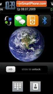 Planet Earth 01 theme screenshot