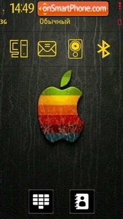 Apple 11 theme screenshot