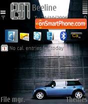 Скриншот темы Mini Cooper