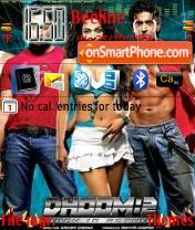 Dhoom 2 pslulla es el tema de pantalla