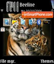 Tigers theme screenshot