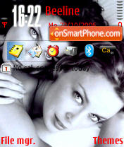 Minogue Sisters theme screenshot