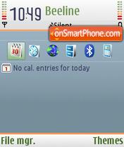 Скриншот темы NG default