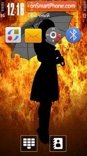 Firegirl 01 theme screenshot